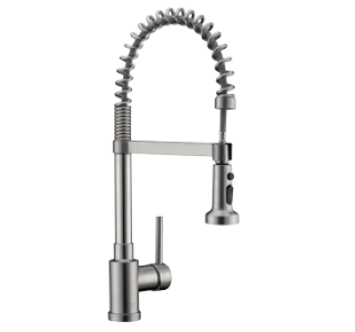 Single Handle Pull-Down Kitchen Faucet - KSK1115
