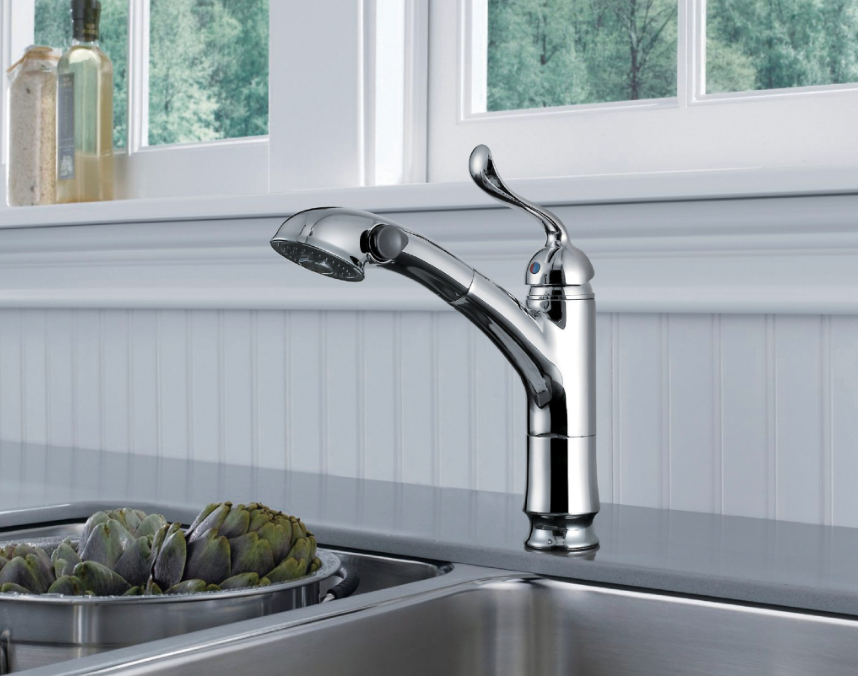 Single Handle Pull-Out Kitchen Faucet - KSK1116
