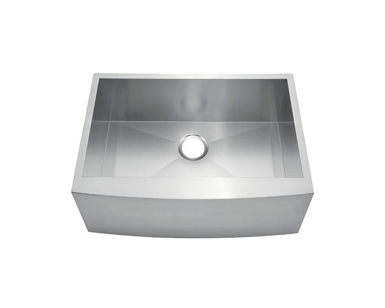 "Fabricated Apron Farm Sink 24"" x 20"" - KSF242010S"