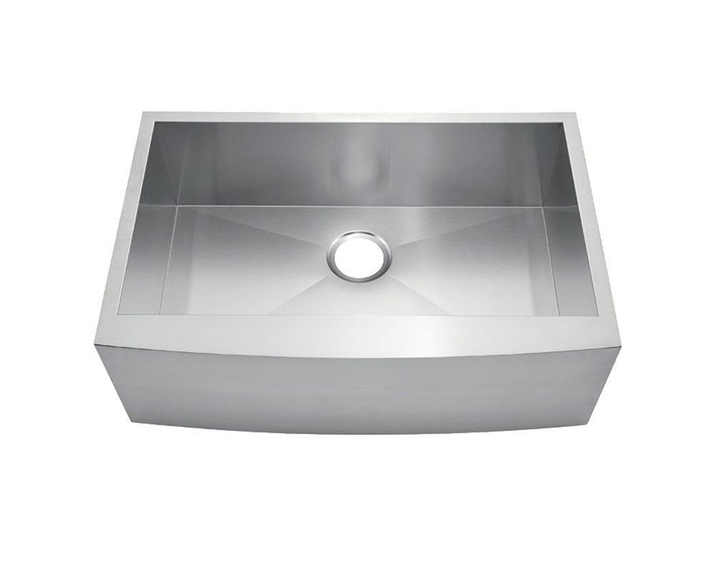"Fabricated Apron Farm Sink 30"" x 20"" - KSF302010S"