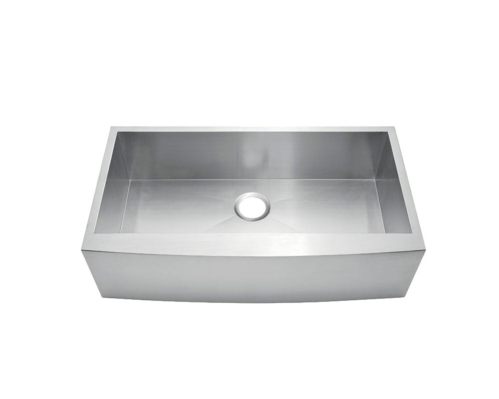 "Fabricated Apron Farm Sink 36""x 20""- KSF362010S"