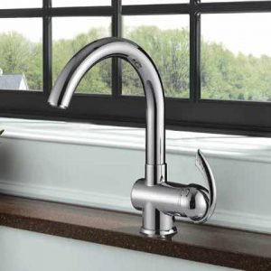 Single Handle High-Arc Kitchen Faucet - K1111