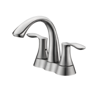 "4"" Two Handle Lavatory Faucet - KSB4231"