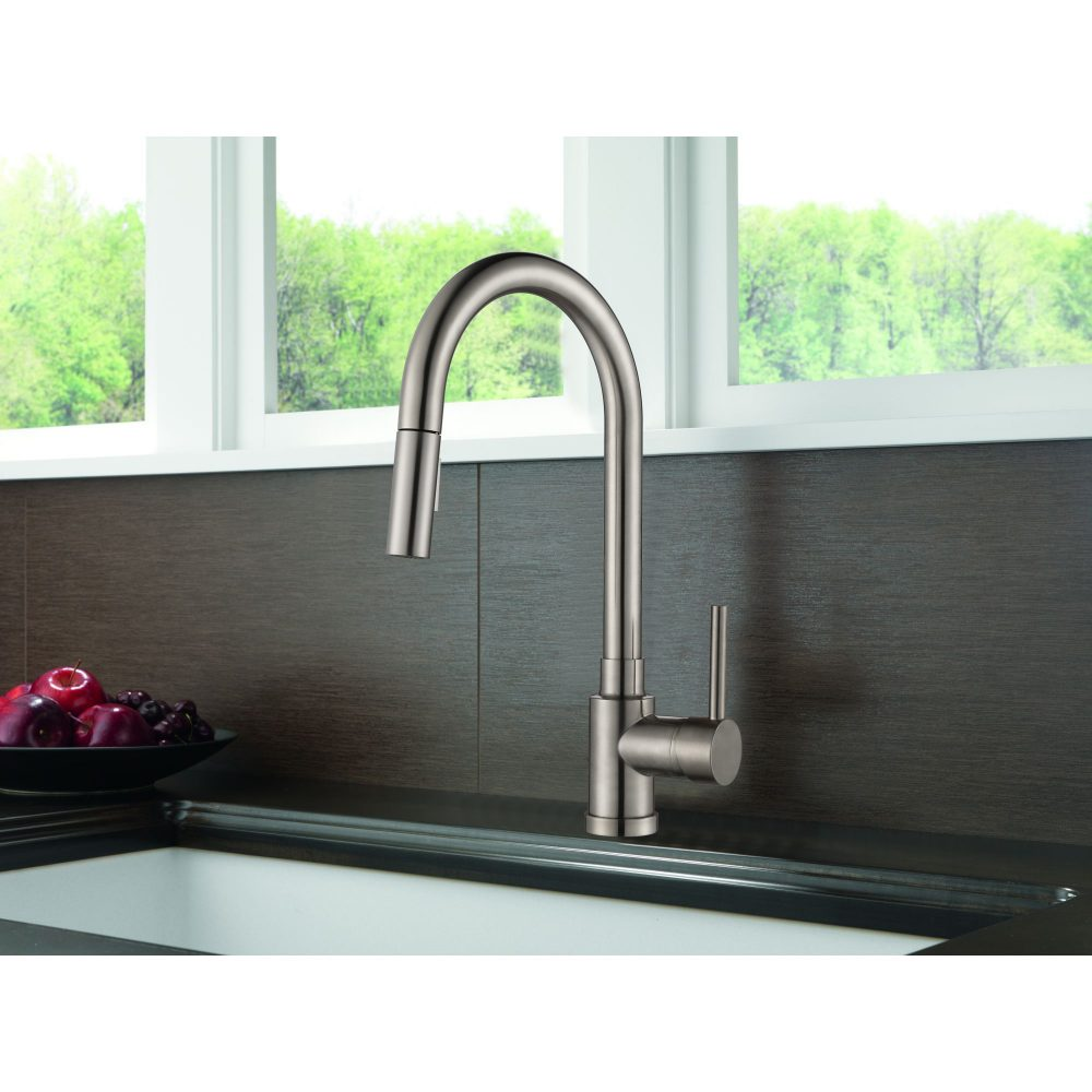 Single Handle Pull-down Kitchen Faucet - KSK1120