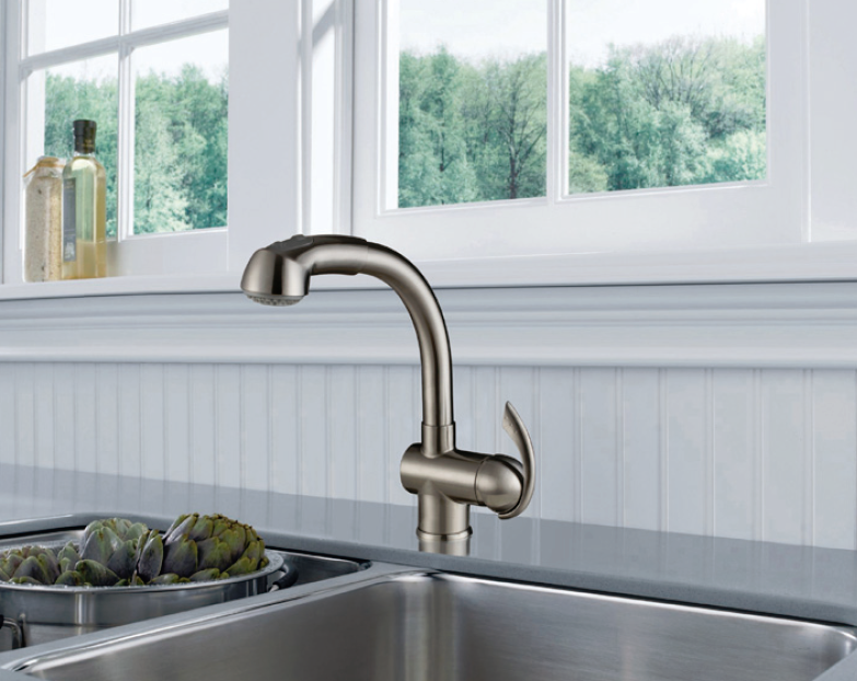 Single Handle Pull-out Kitchen Faucet - KSK1110