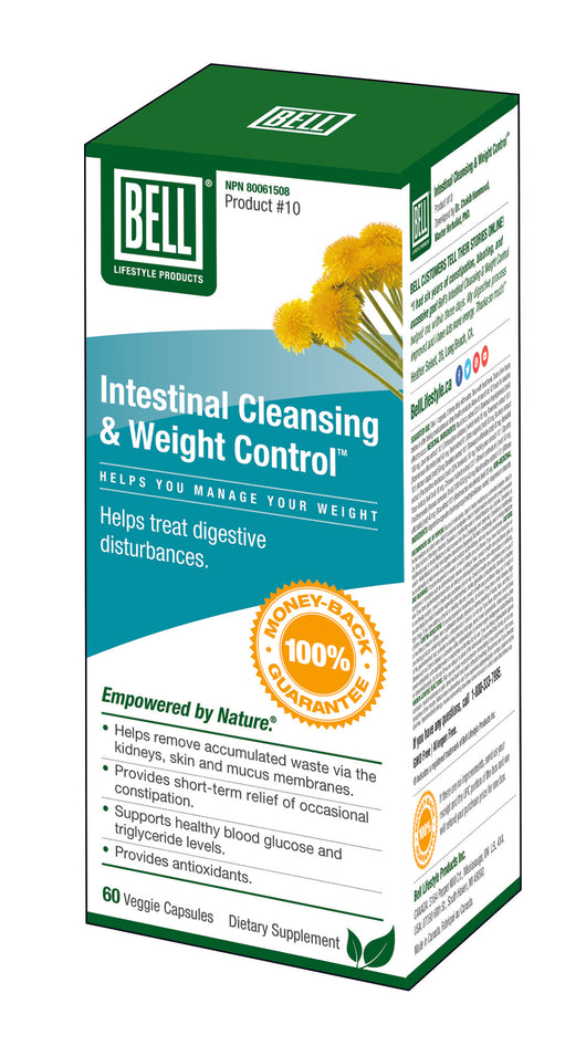 #10 Intestinal Cleansing & Weight Control™