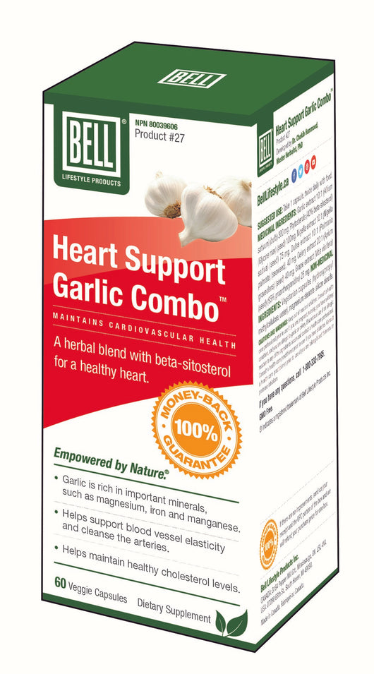#27 Heart Support Garlic Combo