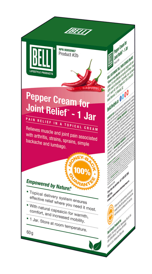 #2b Pepper Cream for Joint Relief™, Jar