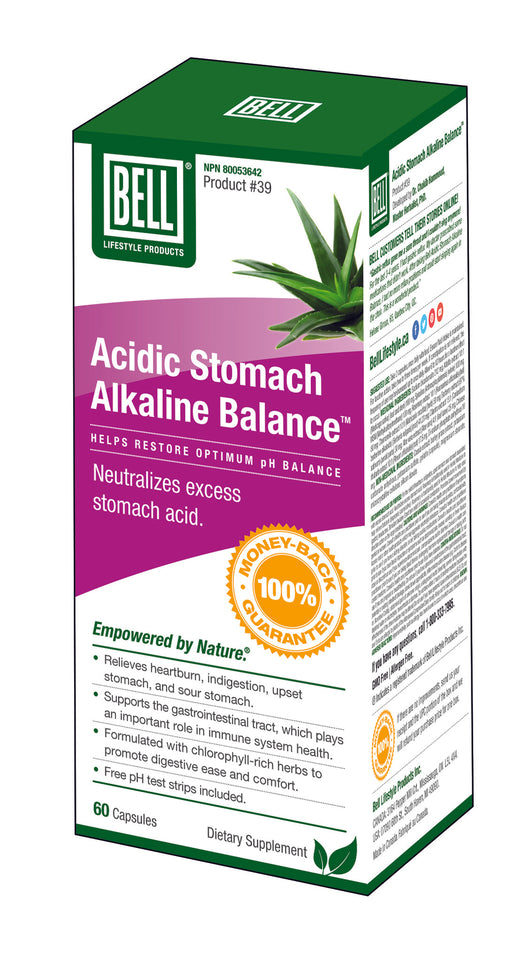 #39 Acidic Stomach/Alkaline Balance*