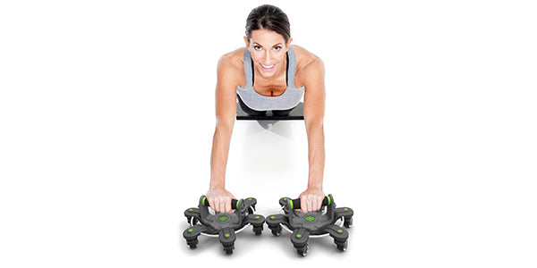 "The LA Times calls The Spyder 360™ ""The Swiss Army Knife of Ab Rollers!"""