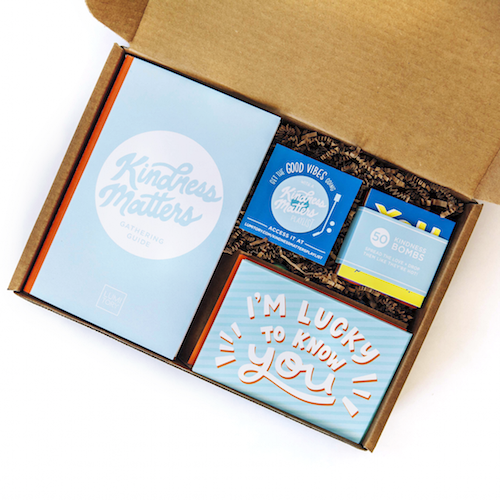 Kindness Matters Gathering Box by Lumitory with Everything You Need to Spread Kindness