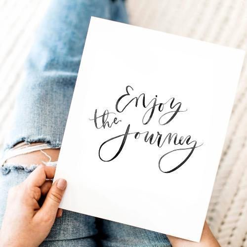 Print: Enjoy the Journey