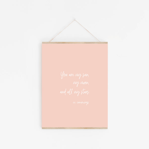 Print: You Are My Sun