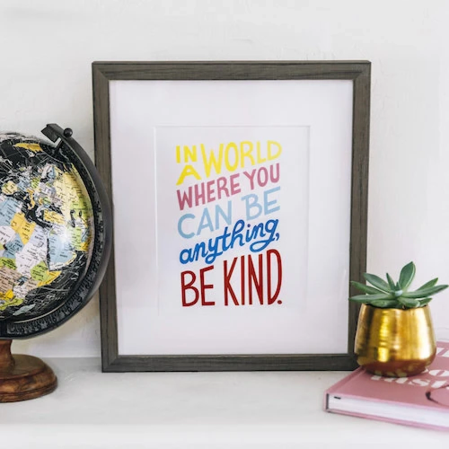 Poster: Be Kind