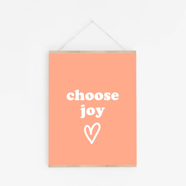 Poster: Choose Joy