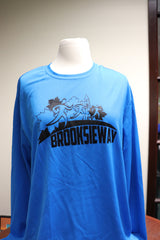 Long Sleeve Tech Shirt - Blue