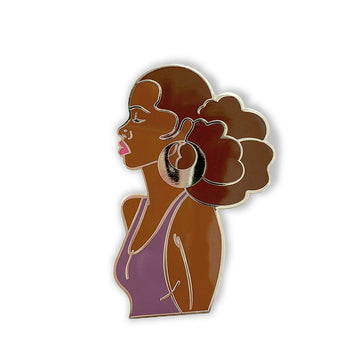 lapel pin-hoop earrings-she illustrates