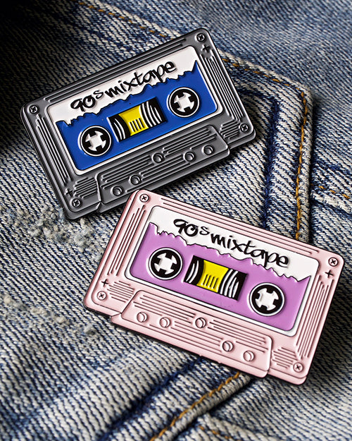 soft enamel cassette tape pins