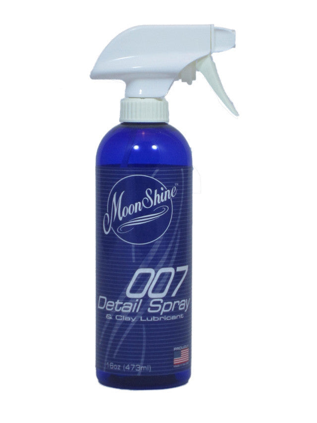 MoonShine 007 Detail Spray 16 oz Spray Bottle Provides High Shine and Slickness