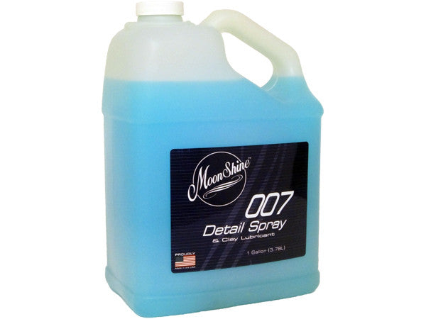MoonShine 007 Detail Spray One Gal Refill - MoonShine Car Care Products