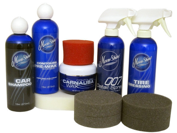 "MoonShine ""The Shine Makers Kit"" - MoonShine Car Care Products"