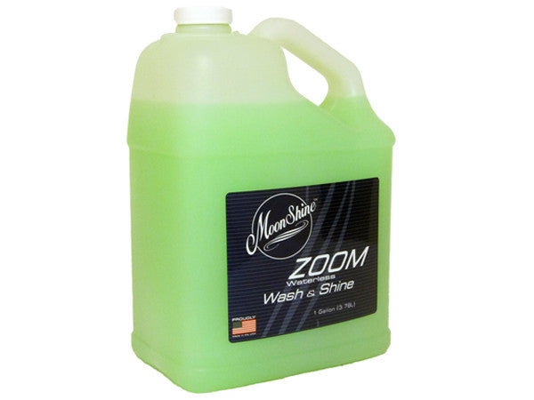 MoonShine ZOOM Waterless Wash & Shine One Gal Refill - MoonShine Car Care Products