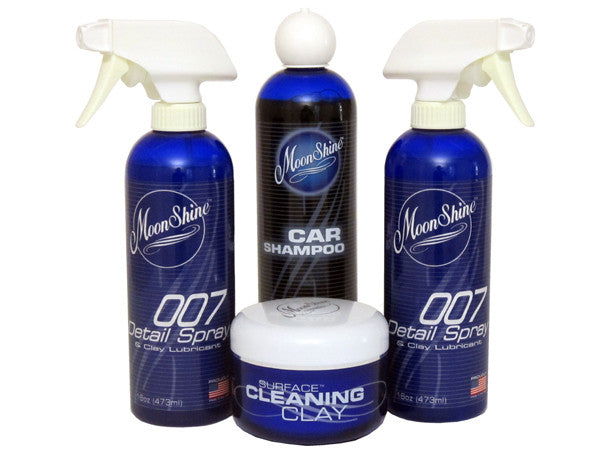 MoonShine Wash Clay & 007 Kit - MoonShine Car Care Products