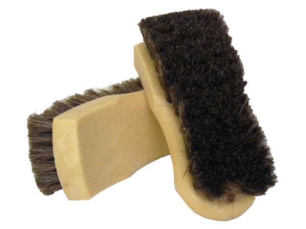MoonShine Horsehair Leather & Upholstrery Scrub Brush - MoonShine Car Care Products