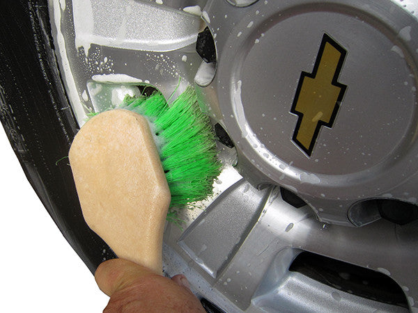 MoonShine Soft Green Tire & Wheel Scrub Brush - MoonShine Car Care Products