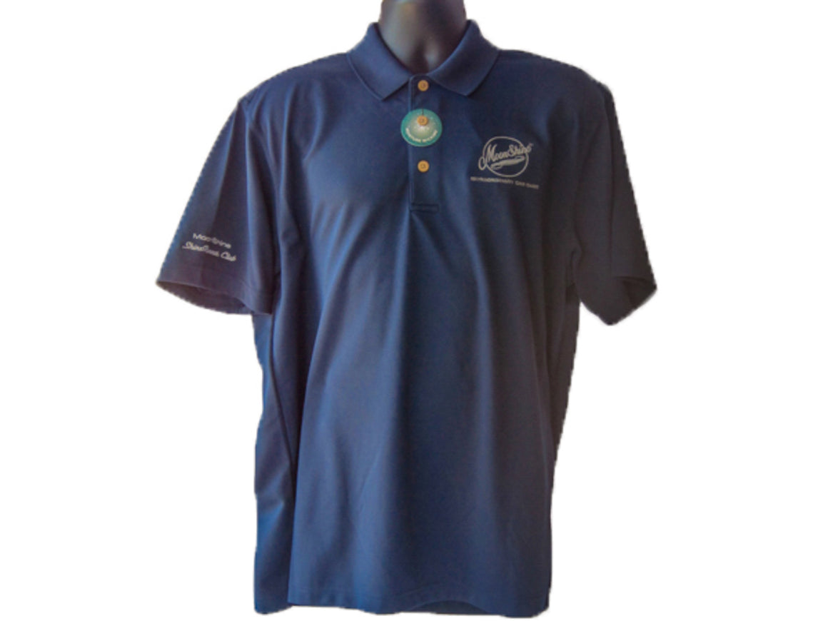 MoonShine Apparel Polo's are a high quality Polo with embroidered logo on the left chest