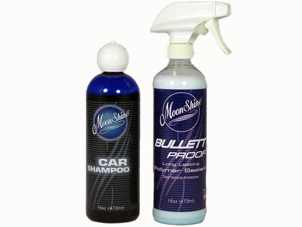 MoonShine Bullett Proof Starter Kit - MoonShine Car Care Products