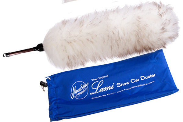 "The Original 24"" MoonShine LAMI Show Car Duster, The Softest, Never Scratch and it's Washable"