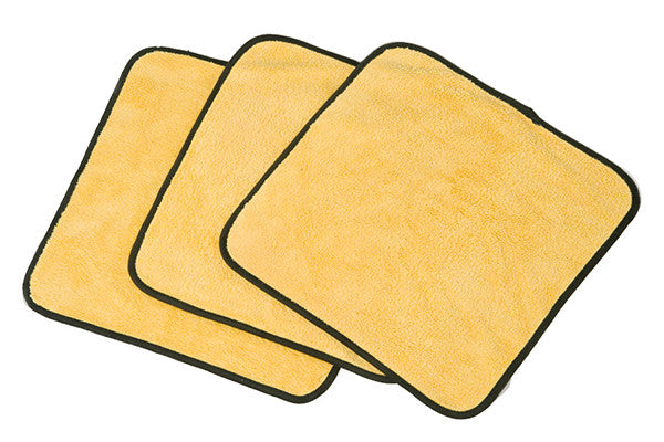 ShineMaker (single) Gold Extra Plush Detailer & Buff Microfiber Towel - MoonShine Car Care Products