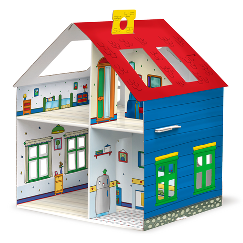 Caillou Buildable House