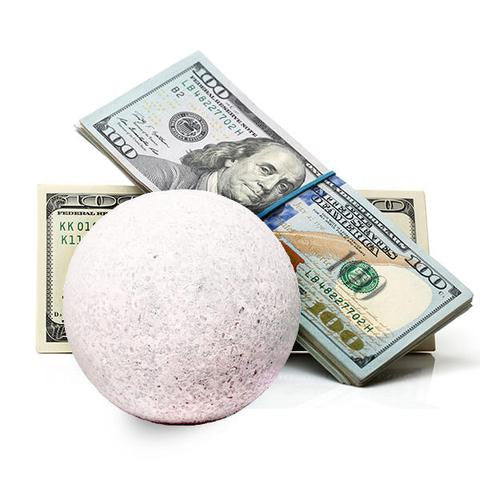 Cash Bath Bombs - Cash Bombs - Cash Inside Bath Bombs!