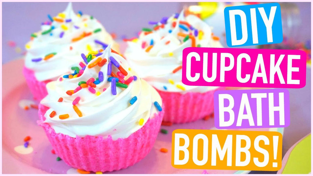 DIY Cupcake Bath Bombs!