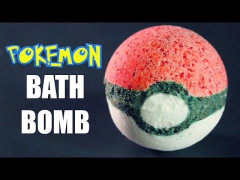 DIY Pokémon Bath Bomb