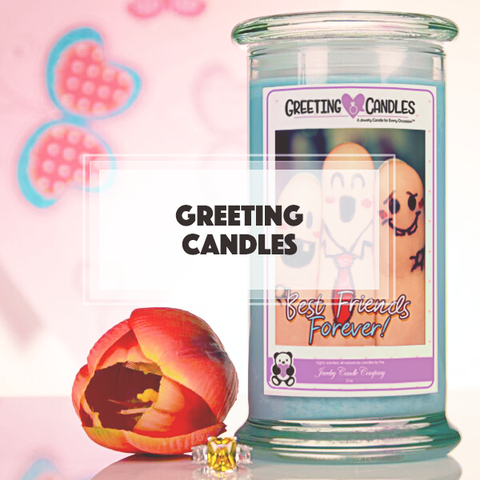 Greeting Jewelry Candles