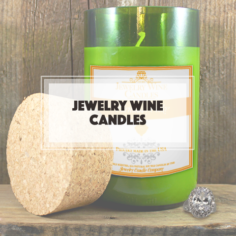 Jewelry Wine Candles