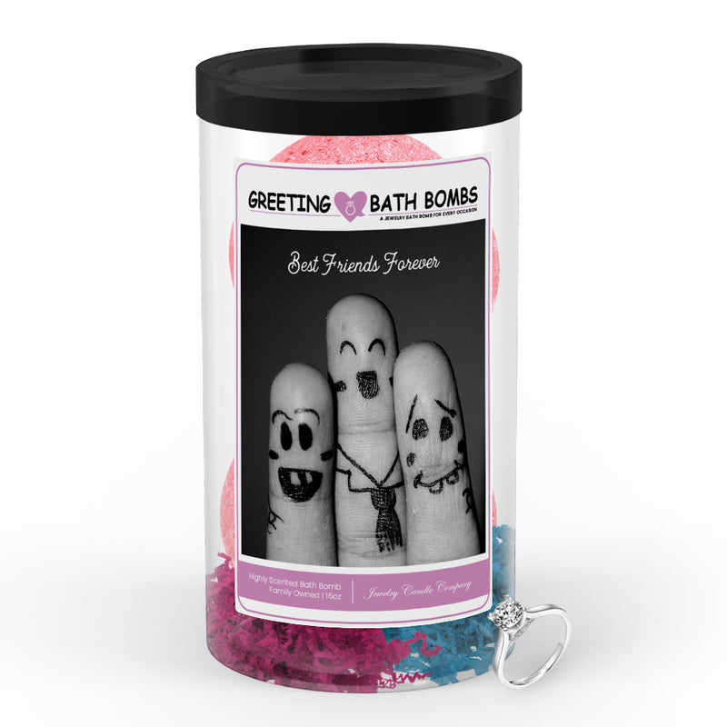 Best Friends Forever Greetings Bath Bombs