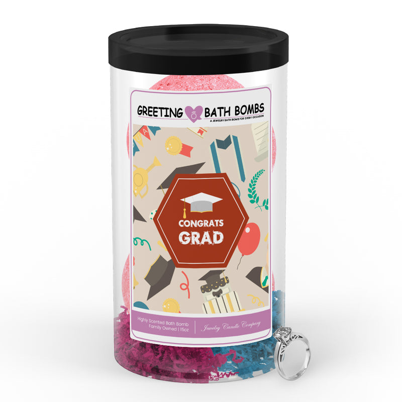 Congrats Grad Greetings Bath Bombs