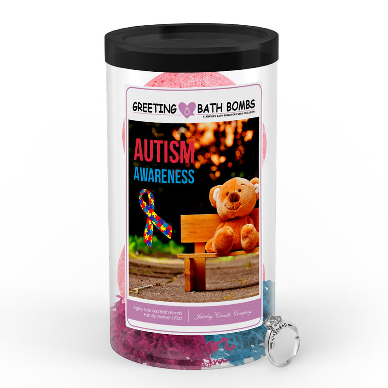 Autism Awareness Greetings Bath Bombs