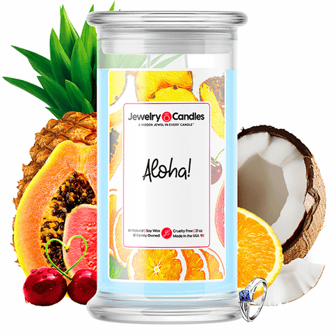 Aloha! Jewelry Candle - BathBombs.Com