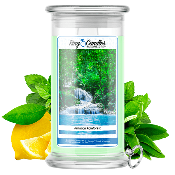 Amazon Rainforest Ring Candle - BathBombs.Com