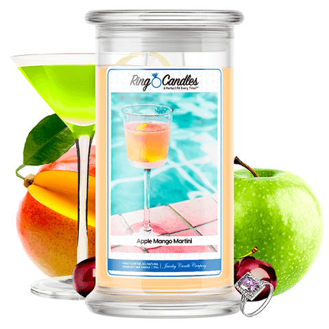 Apple Mango Martini Ring Candle - BathBombs.Com