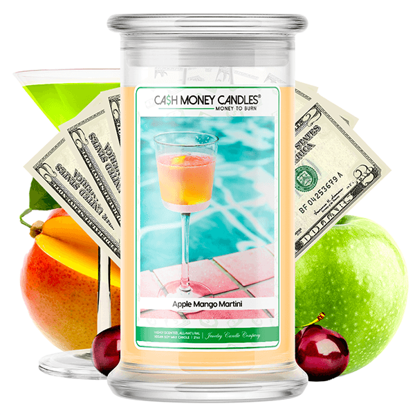 Apple Mango Martini Cash Money Candle - BathBombs.Com
