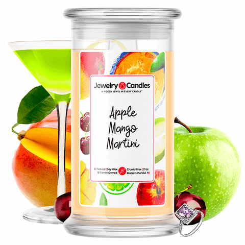 Apple Mango Martini Jewelry Candle - BathBombs.Com