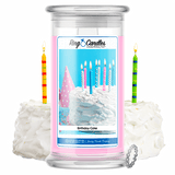 Birthday Cake Ring Candle - BathBombs.Com