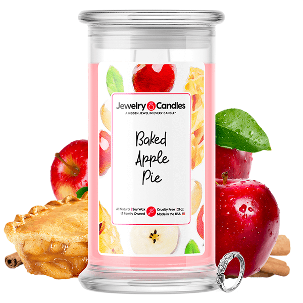 Baked Apple Pie Jewelry Candle - BathBombs.Com