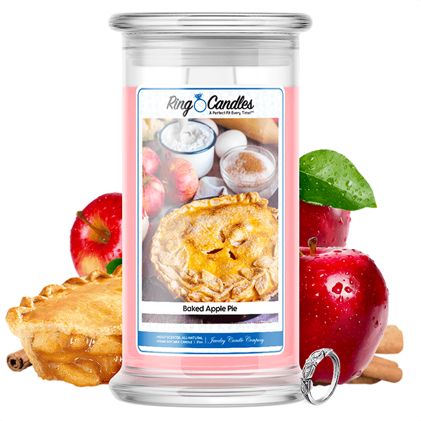 Baked Apple Pie Ring Candle - BathBombs.Com